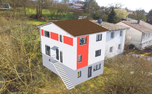 Doppelhaus, DHH, Doppelhaushälfte, Veitshöchheim, VHH